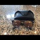 Ray-Ban Accessories   Ray Ban Sunglasses   Color: Black   Size: Os