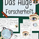 Poster Das Auge - kostenlos downloaden!  Grundschule Plakat