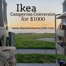 2019 Simple Ikea Camper Van Build for $1000 — The Sweet Savory Life