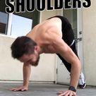 Big Shoulders in 5 Minutes | Shoulders Workout At Home | Shoulder Training At Home