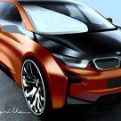 BMW i3 Coupe Concept    Design Sketch