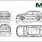 Audi S3   Disegno 2D   22687   Model COPY   Italiano