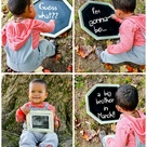 Sibling Pregnancy Announcements