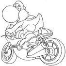 Coloriage Mario Kart #154429 (Jeux Vidéos) – Album de coloriages