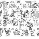 Color Me Alphabet Poster - Classroom Freebies   Alphabet
