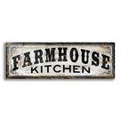 Epic Art 'Farmhouse Kitchen' by Cindy Jacobs, Acrylic Glass Wall Art   48x16