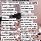 Discount codes !