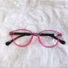 Stylens Accessories   Kaylee Pink Classic Round Reader Glasses   Color: Pink   Size: Various