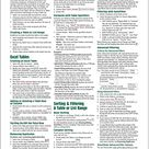 Microsoft Outlook 2016 Mail, Calendar, People, Tasks, Notes Quick Reference   Windows Version Cheat Sheet of Instructions, Tips & Shortcuts   Laminated Guide