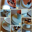 Homemade Cake Stands