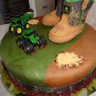 Camo Baby Cake