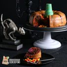 """Tasty on Instagram: """"This Halloween Bundt Cake is so deliciously spooky, you'll end up making every year. 🎃See and shop the recipe in our link in bio."""""""