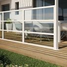 Windschutz für Terrasse und Balkon wählen - 20 Ideen und Tipps