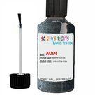 Audi A6 Allroad Aviator Blue Code U0 Touch Up Paint Scratch Stone Chip
