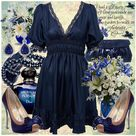 Blue Dress Outfits
