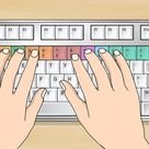 Das 10 Finger System lernen