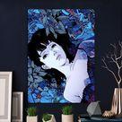 Metal Poster Perfect Blue Satoshi Kon