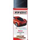 Bmw X5 Toledo Blue 482 Car Aerosol Spray Paint Rattle Can   Single Basecoat Aerosol Spray 400ML