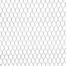 Sechseck Drahtgeflecht silbern MW 25 mm, 100 x 1000 cm