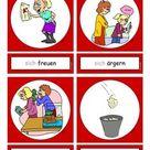 Flashcards Verben In der Schule 5 mittel