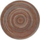 benuta In  & Outdoor Teppich rund Kenya Multicolor ø 160 cm rund   für Balkon, Terrasse & Garten ben