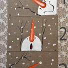 Hand-painted Snowman Placemats/ Placemats set of 2, 3. 4, 5. 6, 7 or 8 /Christmas decorating /Holida
