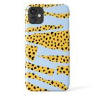 PAPER DOTS Phone Case - Animal Design iPhone Case - Blue Yellow Phone Cover - Samsung Galaxy Case - Minimalist Case for iPhone 11, 12 Pro