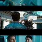 Star Trek Into Darkness - I just love the looks on their faces in the bottom picture.