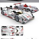 Audi R18 e tron quattro contests the 12 hour race at Sebring Florida   Box Autos