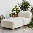 Circuit Modular Armless Chair - More Options