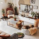 Boho Style Ideen für Schlafzimmer Dekore #Appartement #Schlafzimmer #Boho #Dekore #Idee