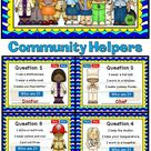 Who Am I   Community Helpers Powerpoint Game 1