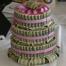 Dollar Bill Cake