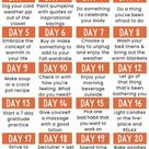 Autumn Self-Care: Take the Self-Care Challenge - Blessing Manifesting