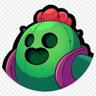 Pinky Spike Brawl Stars , Png Download, Transparent Png(1076x1019) - PngFind