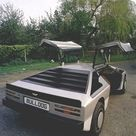 1980 Aston Martin Bulldog. Styled by William Towns. Powered by a twin Garrett AirResearch turbocharged 5.3 litre V8 producing 700bhp at the crank. Aston Martin intended to make 25 but only one was ever built.
