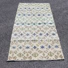 Turkish area rug, Vintage rug, 2.7 x 5.4 ft   Home decor, Floor rug, 0rganic wool rug, Interior design, Boho rug, Anatolian rug, No 8891