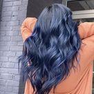Navy blue hair 💙🖤