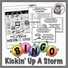 Science Bingo: Kickin' Up a Storm - Topic: Weather (Middle School)