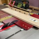 Cutting pieces to the drawer side panels