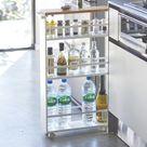 Hidden kitchen trolley