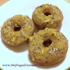 Gluten Free Vegan Lemon Poppy Mini Donuts