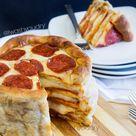 Pizza Wedding Cake
