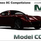 Alfa Romeo 8C Competizione 2007   3D Model   18938   Model COPY   English