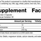 Magnesium Lactate, 90 Capsules