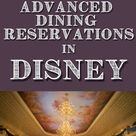 Restaurants that need Advanced Dining Reservations (ADR's) in Disney World ⋆ Yorkshire Wonders