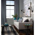 360 Lighting Modern Wall Lamp Plug In Set of 2 Black and Antique Brass for Bedroom Reading Living Room   Walmart.com