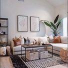 ?67 cozy farmhouse living room decor ideas 66 » Home Designs