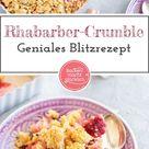 Rhabarber-Crumble
