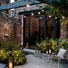 Jardin ambiance lounge  idées d'aménagement